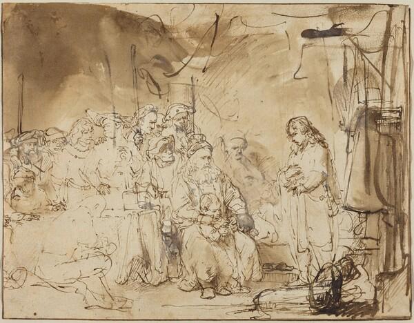 Joseph Recounting His Dreams