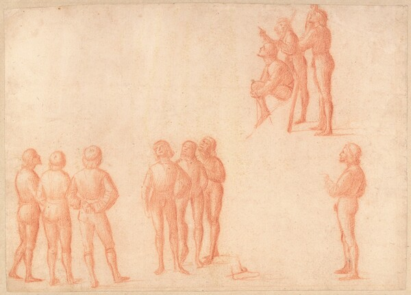 Groups of Male Figures