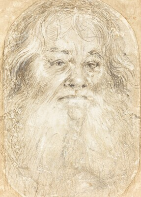 Study of a Bearded Man [verso]