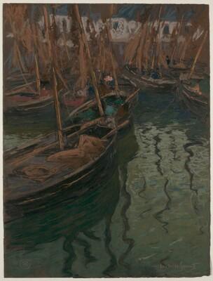 A Dock Harmony-Fishing Boats