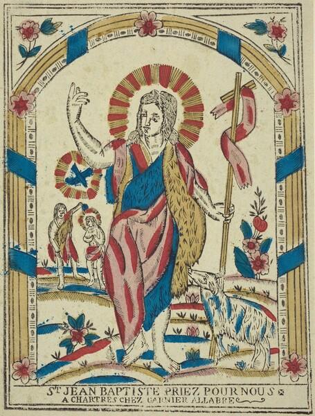 Saint John the Baptist Pray for Us