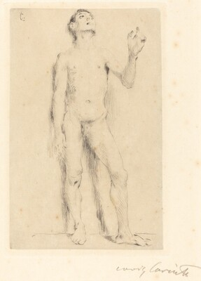 Young Male Nude (Jünglingsakt)