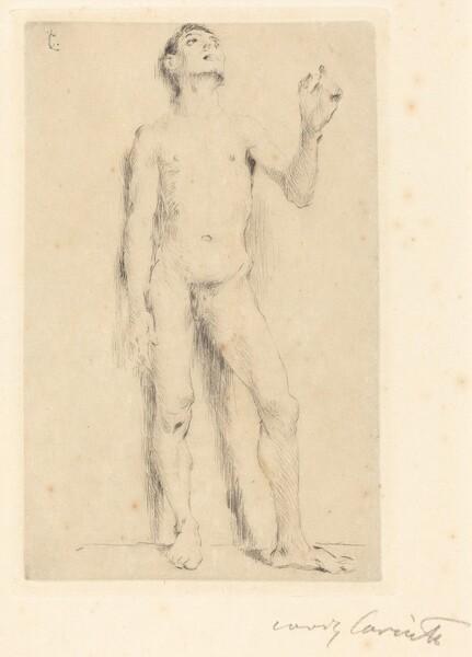 Jünglingsakt (Young Male Nude)