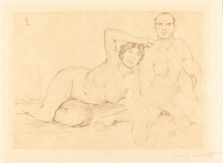 Two Nudes (Zwei Menschen)