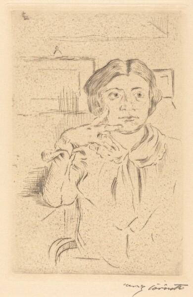 Gattin des Künstlers (Wife of the Artist)
