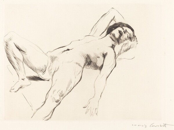 Liegender Weiblicher Akt I (Reclining Female Nude I)
