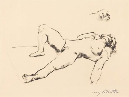 Reclining Female Nude - II (Liegender Weiblicher Akt II)