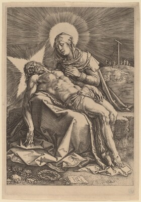 Pietà (The Sorrowing Virgin with the Dead Christ in Her Lap)