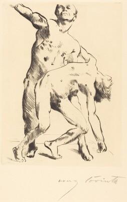 Odysseus and the Suitor (Odysseus und die Freier)