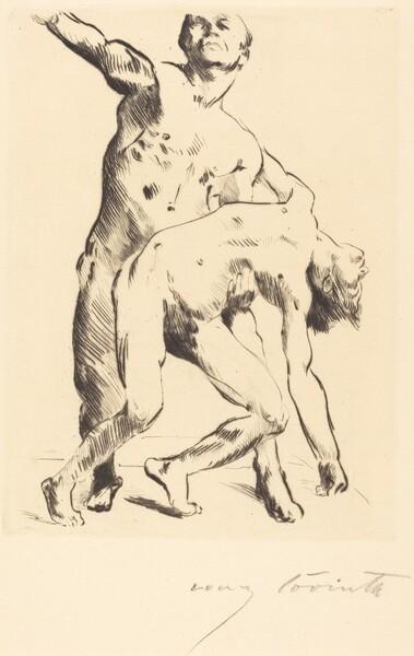 Odysseus und die Freier (Odysseus and the Suitor)
