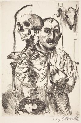 The Artist and Death - II (Der Künstler und der Tod II)