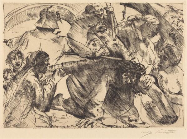 Kreuztragung (Christ Bearing the Cross)