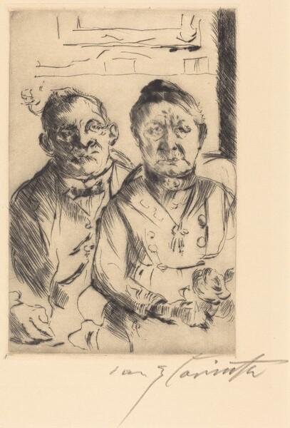 Ostpreussisches Ehepaar (Couple from East Prussia)
