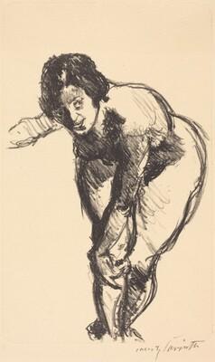 Nude Bending Forward (Gebeugter Akt)