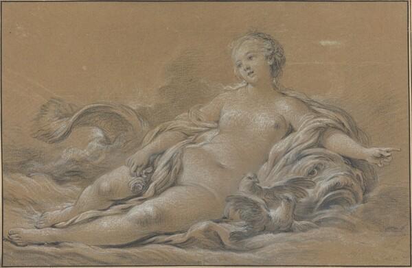 Venus Reclining on a Dolphin