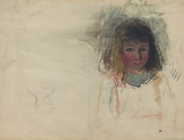 The Artist's Son Georges [verso]