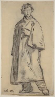 Man Wearing a Cloak [recto]