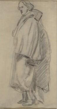 Man Wearing a Cloak [verso]
