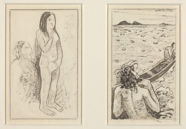 Parau No Te Varau Ino (left); Tahitian Legend (right)