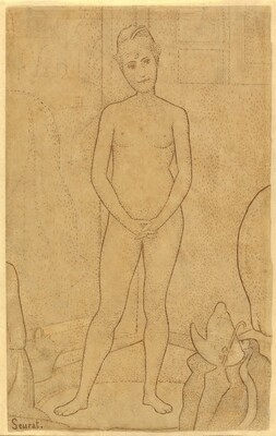 Georges Seurat, Study after