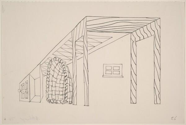 Basket, Table, Door, Window, Mirror, Rug #25