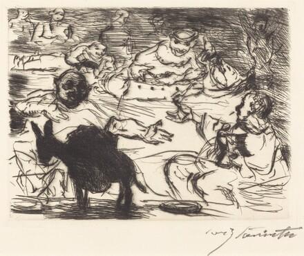 The Banquet of Trimalchio: pl.V