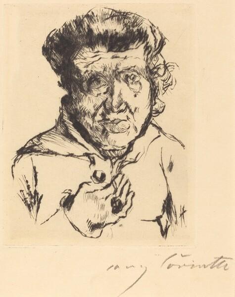 Des Künstlers Schwiegermutter (The Artist's Mother-in-Law)