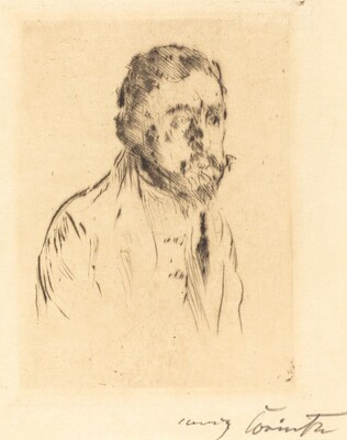 Hermann Struck (Bildnisstudie H. St.)