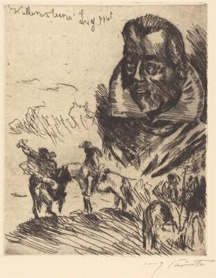 Title Page for Wallensteins Lager (Wallenstein's Camp)