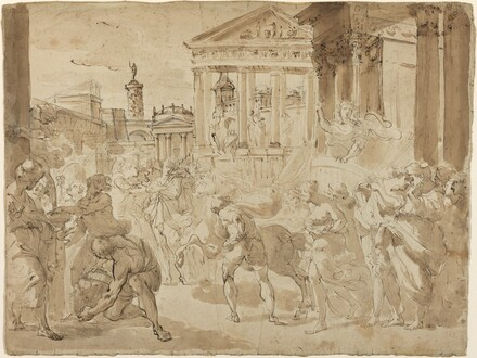 A Triumphal Procession in Ancient Rome