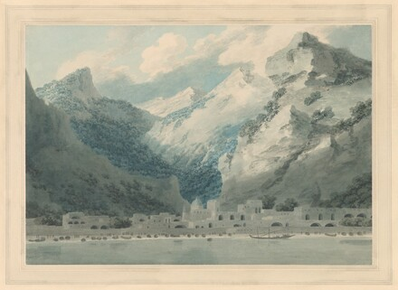 John Robert Cozens, Cetara on the Gulf of Salerno, 17901790