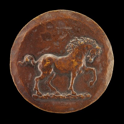 Horse Pawing the Earth [reverse]