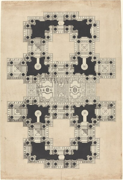 Plan for a Decorated Ceiling