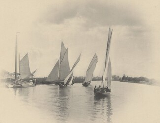 A Sailing Match at Horning