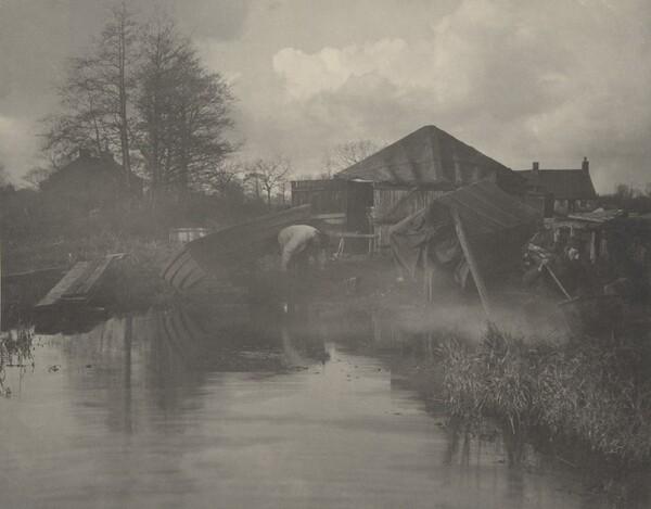 A Norfolk Boat-Yard