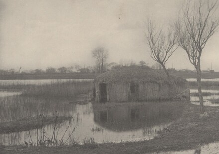 A Reed Boat-House