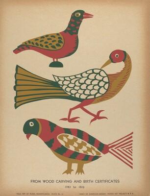 Plate 10: From the Portfolio Folk Art of Rural Pennsylvania