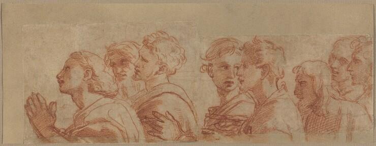Raphael, Eight  Apostles, c. 1514c. 1514