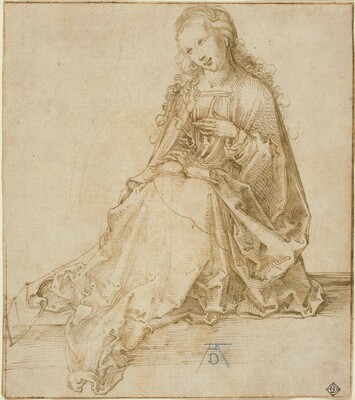 Albrecht Dürer, The Virgin Annunciate, 1495/1499