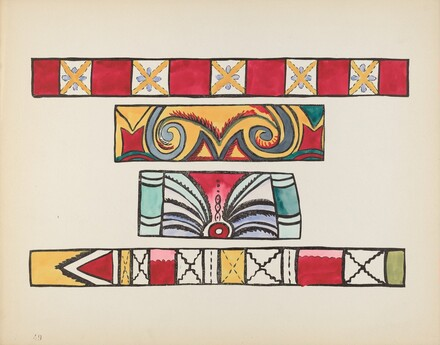 Plate 49: Miscellaneous Design: From Portfolio Spanish Colonial Designs of New Mexico