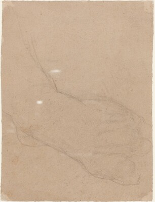 Study of a Foot [verso]
