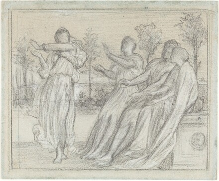Study for Greek Girl Dancing
