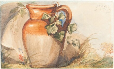Study of a Pottery Jug [recto]