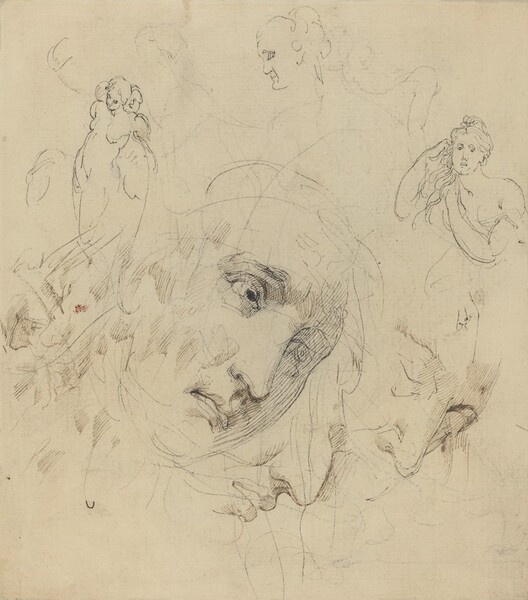Studies with Central Female Face