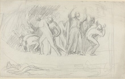 Study for The Deluge