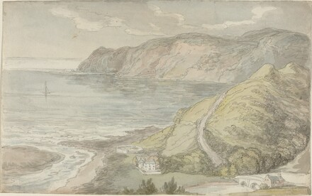 View from the Inn at Lynton