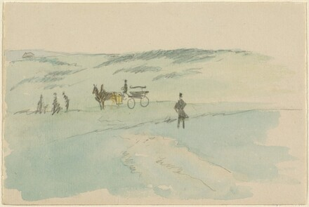 Landscape with Figures and a Carriage