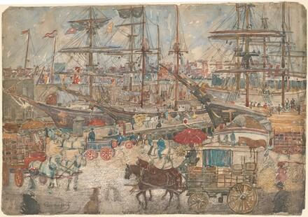 Docks, East Boston