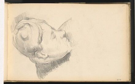 Madame Cézanne with her Head Lowered