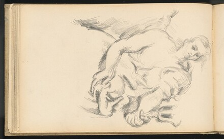 Study of an Angel in Rubens' The Prophet Elijah